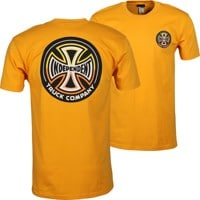 Independent Split Cross T-Shirt - gold