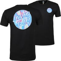 Santa Cruz Iridescent Dot T-Shirt - black