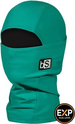 BlackStrap The Kids Expedition Hood Balaclava - solid jade - view large