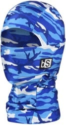 BlackStrap The Kids Hood Balaclava - (print) fatigue blue