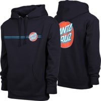 Santa Cruz Other Dot Hoodie - navy/blue/red