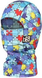 BlackStrap The Kids Hood Balaclava - (print) jigsaw
