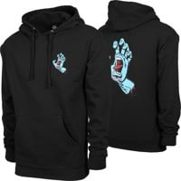 Santa Cruz Screaming Hand Hoodie - black