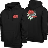 Santa Cruz Slime Ball Brain Buster Hoodie - black