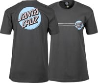 Santa Cruz Women's Other Dot T-Shirt - heavy metal/blue
