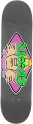 Krooked Arketype 8.25 Skateboard Deck - grey