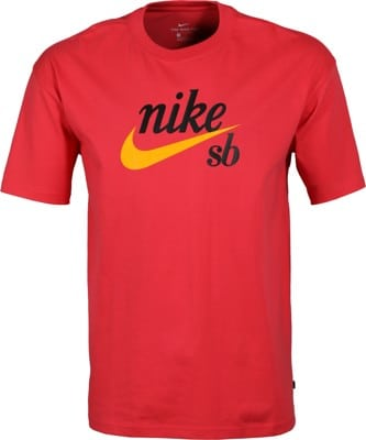 Nike SB HBR T-Shirt - light fusion red - view large