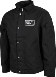 Lowcard Trowel Canvas Jacket - black