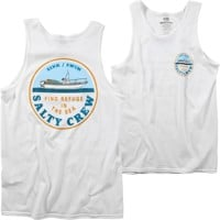 Salty Crew Dawn Patrol Tank - white
