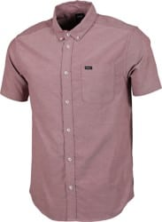 RVCA That'll Do Stretch S/S Shirt - cranberry