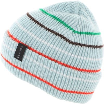 Autumn Multi Stripe Beanie - baby blue - view large