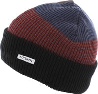 Autumn Patchwork Select Beanie - black