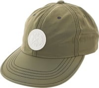 Nixon Flight Strapback Hat - olive/white