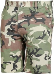 RVCA Week-End Stretch Shorts - woodland camo