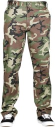 RVCA Week-End Stretch Pants - woodland camo