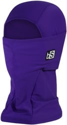 BlackStrap The Hood Balaclava - solid deep purple
