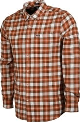 Volcom Repeater Flannel Shirt - vintage brown
