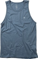 Volcom Solid Heather Tank - stormy blue