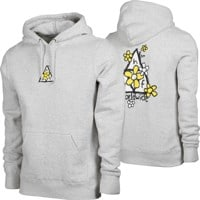 HUF Pushing Daisies TT Hoodie - athletic heather