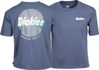 Dickies Women's Gradient Circle Pigment Tomboy T-Shirt - washed navy