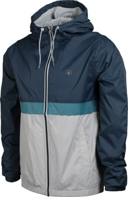 Volcom Ermont Windbreaker - faded navy - view large