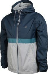 Volcom Ermont Windbreaker - faded navy