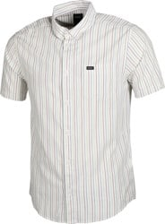 RVCA Cassidy Stripe S/S Shirt - antique white