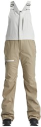 Airblaster Hot Bib Pants - sand bone