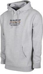 Passport Intersolid Hoodie - heather