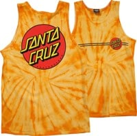 Santa Cruz Classic Dot Tank - spider gold