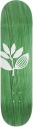 Magenta Team Big Plant 8.25 Skateboard Deck - green