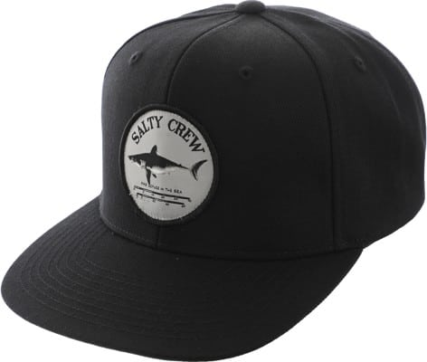 Salty Crew Bruce Snapback Hat - black - view large