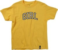 Girl Kids Arch T-Shirt - yellow