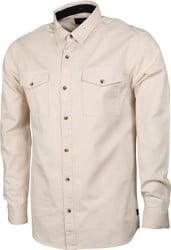 Roark Well Worn Organic L/S Shirt - bone