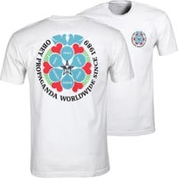 Obey Global Peace Organic Superior T-Shirt - white