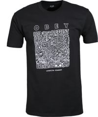 Obey Creative Dissent T-Shirt - black