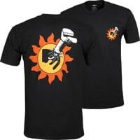 Obey Higher Than The Sun Organic Superior T-Shirt - black