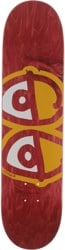 Krooked Team Eyes 8.06 Skateboard Deck - red