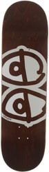 Krooked Team Eyes 8.75 Skateboard Deck - brown