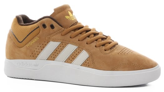 Adidas Tyshawn Pro Skate Shoes - mesa/chalk white/dark brown - view large