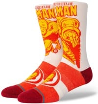 Stance Marvel Iron Man Marquee Infiknit Sock - red