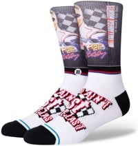 Stance Talladega Nights First You're Last Infiknit Sock - white