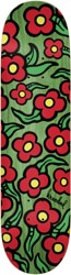 Krooked Team Wild Style Flowers 8.25 Skateboard Deck - green