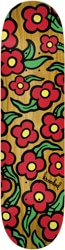 Krooked Team Wild Style Flowers 8.25 Skateboard Deck - orange