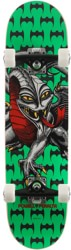 Powell Peralta Cab Dragon One-Off 7.5 Soft Wheel Complete Skateboard - green