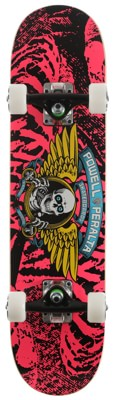 Powell Peralta Winged Ripper 7.0 Soft Wheel Complete Skateboard - pink - view large