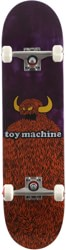 Toy Machine Furry Monster 8.0 Complete Skateboard - purple