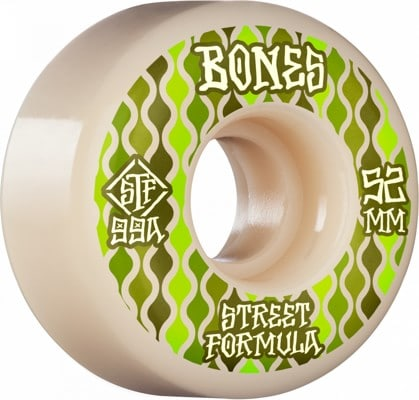Bones STF V2 Locks Skateboard Wheels - retros (99a) - view large
