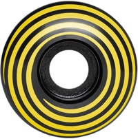 Madness Hazard Swirl Radial Skateboard Wheels - black (101a)