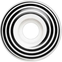 Madness Hazard Swirl Radial Skateboard Wheels - white (101a)